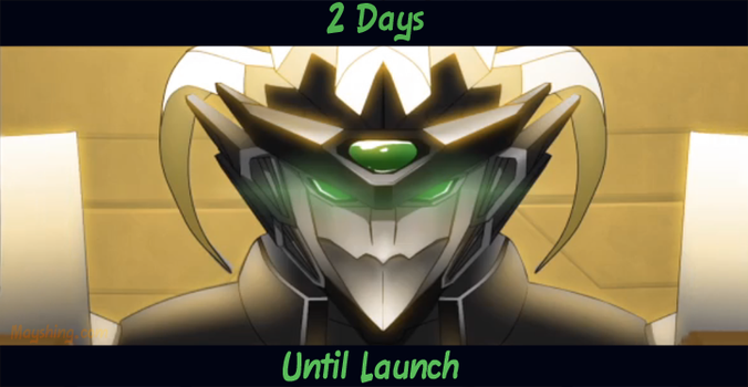 2 days until Launch by mayshing
