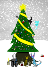 Holiday Merryment-2017 by MethusulaComics