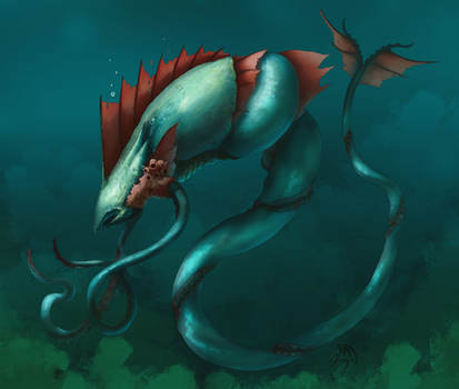 The King of the Realm of Water by Snakebearer
