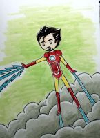Little Iron man xD by CharlotteMosey