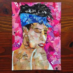 Collaged Portrait by Narniakid