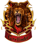 Gryffindor - stamp by Autlaw