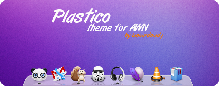 Plastico theme for AWN 0.4 by leonardomdq