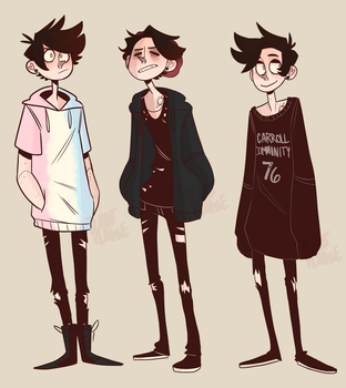 Outfit of the day(s) by plantplague