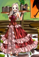 Fairy Tail- Mirajane (Lineart Coloring) by xXvampireangel78Xx