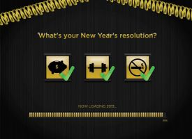 What's your New Year's resolution? by vlahall