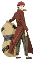 Chinese Clothing|Gaara of the Sand by iEnniDESIGN
