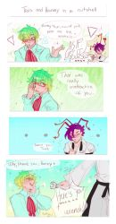 Trois is my new religion but a comic by Drawing-Heart