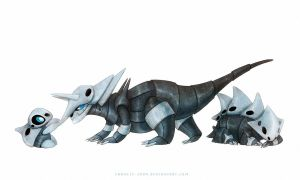 Aggron, Lairon and Aron