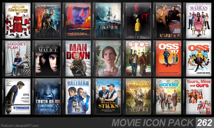 Movie Icon Pack 262 by FirstLine1