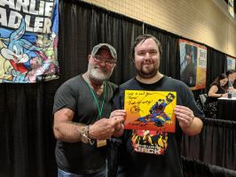 Meeting Charlie Adler. by Kaiju-Brawler911