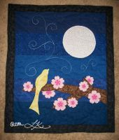 Baby Quilt - Night Sky by WingedValiance