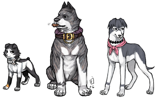 Bleach Doggies 13 by emlan