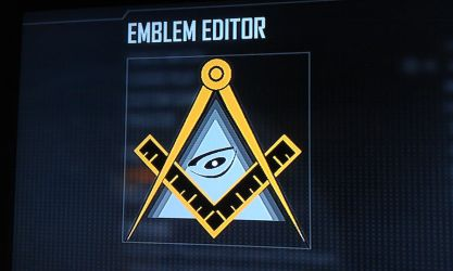 Call of Duty Black Ops 2 Emblem | Masonic Symbols by White--Folks