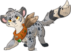 Art Fight - Attack 1 - Lizzara by JB-Pawstep