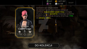 I got Punk Cassie Cage by RayMcCall-ErronBlack
