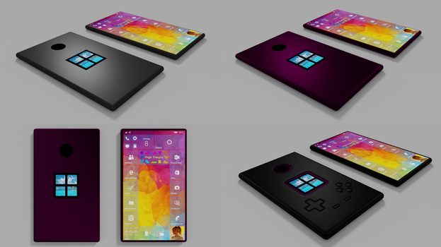 Surface Phone Concept Art by 8DFineArt