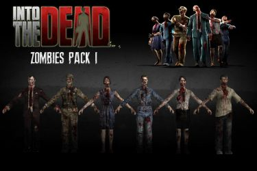 Into The Dead - Zombies *Pack 1* [XPS] by 972oTeV