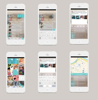 Mobile Design-1 by long5009
