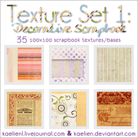 1st Texture Set by kaelien