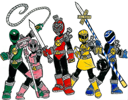 Ressha Sentai ToQger redesign by TheHolderOfTales