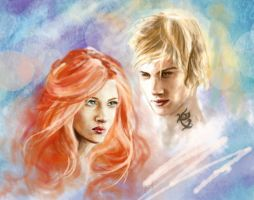 Clary x Jace by smitth