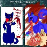 My style/Your style meme(from my friend) by ShadowTheLeader