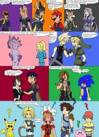 Super Smash Bros VS Dissidia by SuperSaiyanCrash