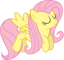 Flying Fluttershy by Dash1e