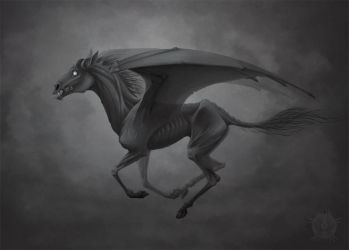 Thestral by Bueshang