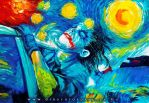 THE JOKER STARRY NIGHT by DIOSCUROS87