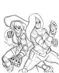 Pirate Madeline and Force Sketch by Frequent-Blackouts