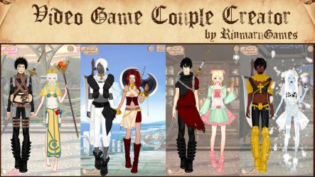 Video game couple creator by Rinmaru
