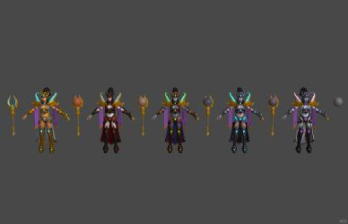 'Heroes of the Storm' Li Ming Templar XPS ONLY!!! by lezisell