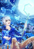 Jack Frost says Merry Xmas by Eternal-S