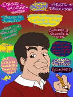 Como es Agustin by AVM-Cartoons