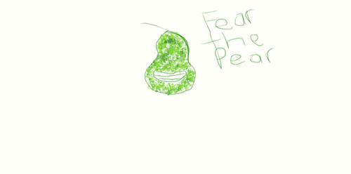 Fear the Pear by DumbBlond101