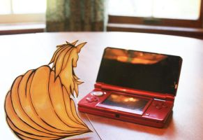 Ninetales Paperchild by About12Kittens