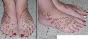 Henna Tattoo Design by Aureawolf