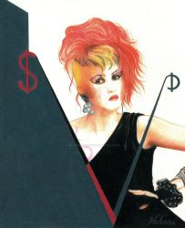 Cyndi Lauper by DotPerspectives