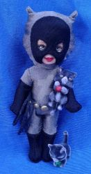 (In)Justice Tots - Catwoman by Lil-Hawk