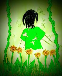 Prides Month-Asexuality (Dandelions) by jangirl83