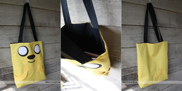 jake the dog tote by resubee