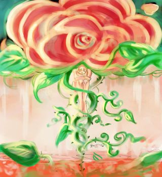 A Rose's thorns by eriume