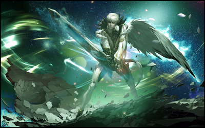 Kamael wall by SMlLE