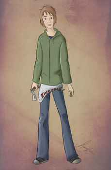 Character Profile - Jake by justpottering