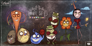 Cuphead - The Bosses of Inkwell Isle I by Atlas-White