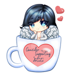 Consider Supporting Artists Nicholi In A Cup by NicholiDeSchidor