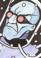 Mr. Freeze Sketch Card by Tyrant-1