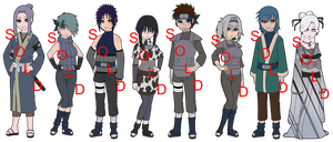 Mixed Kiri Naruto OC Adoptables - SOLD OUT by mistressmaxwell